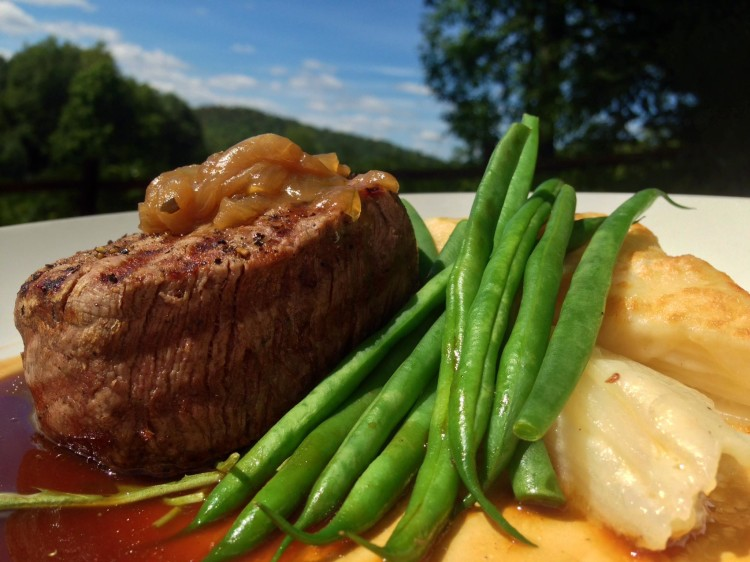 Grilled Black Angus Filet Mignon