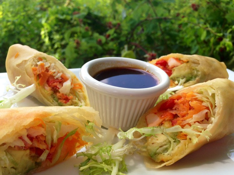 Lobster & Avocado Spring Roll