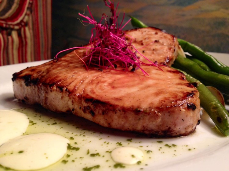 Miso Marinated Swordfish