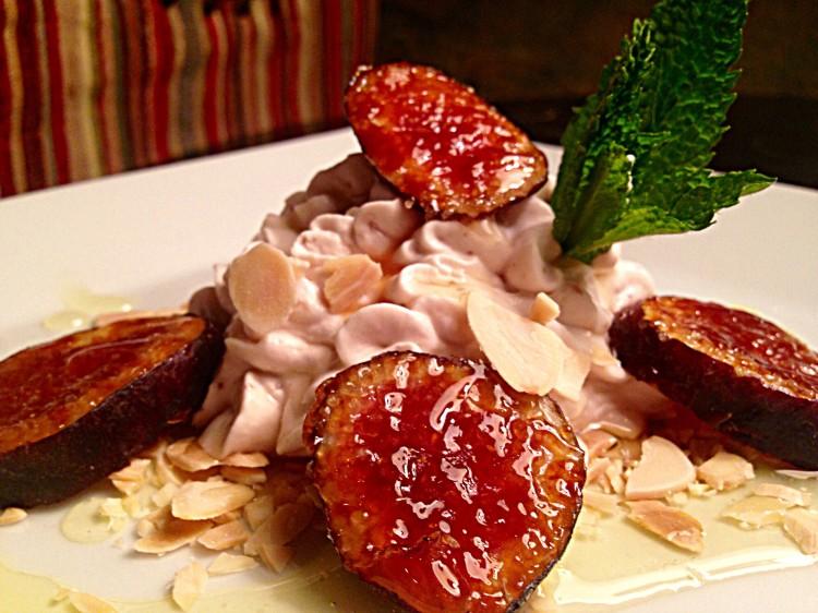 Fig & Honey Marscapone Mousse