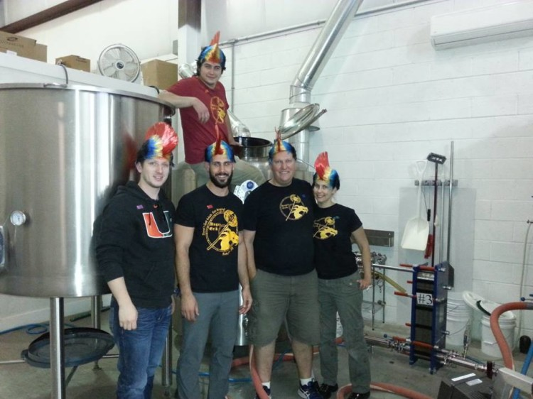 The Staff At Angry Erik Brewing