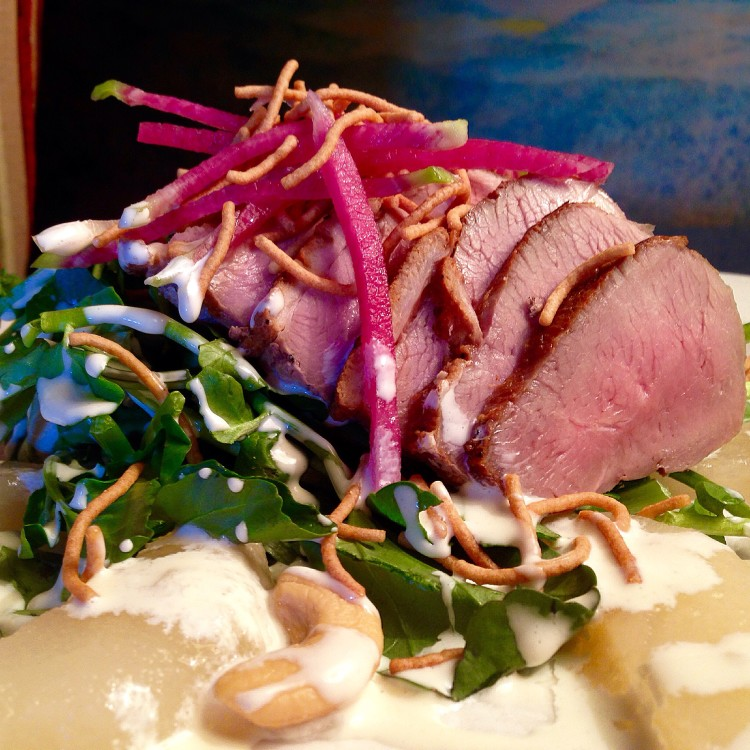 Husdon Valley Duck Watercress Salad