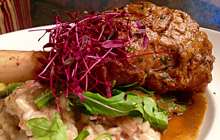 Braised Austrailian Lamb Shank