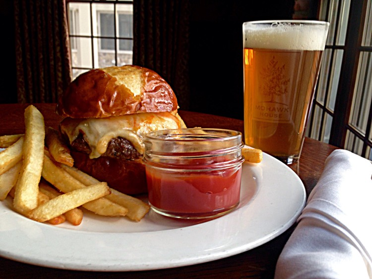Mohawk Burger Paired With A Craft Beer
