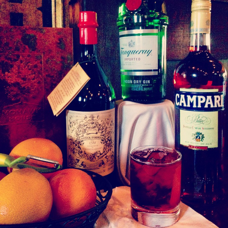 Negroni Cocktail (2)
