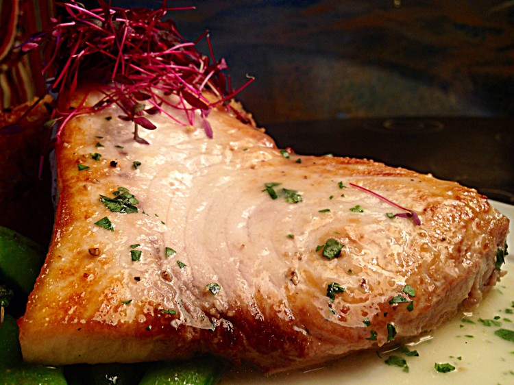 Pan Seared Carolina Swordfish (2)