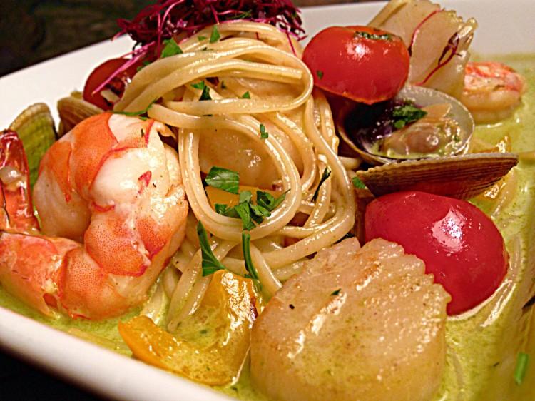 Day-Boat Seafood Linguini Fini