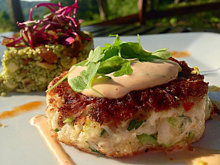 Seared Blue Crab Cake