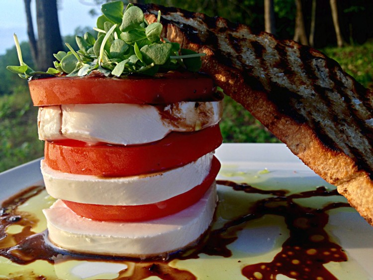 Tomato & Mozzarella Tower