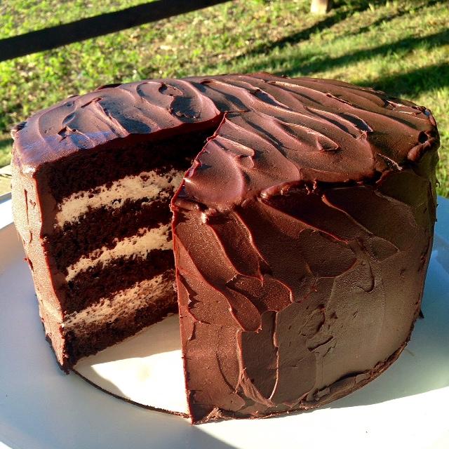 Mohawk Chocolate Cake