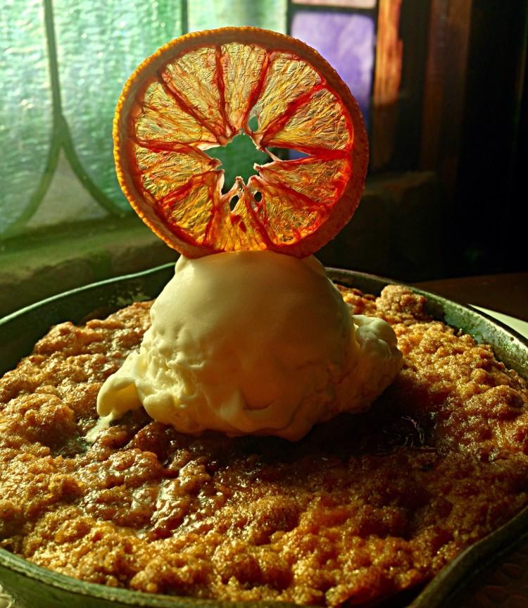 Blood Orange & Turmeric Coffee Cake Skillet